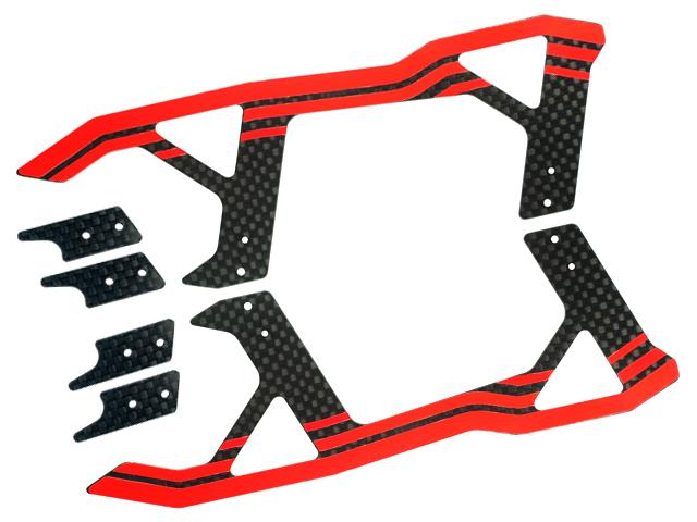 270CFX Microheli Aluminum//Carbon Fiber Landing Gear BLADE 250CFX 300CFX GOLD