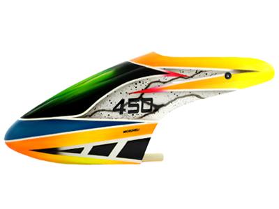 Airbrush Fiberglass Anvil Lightning Canopy - BLADE 450X/3D  sc 1 st  Microheli & BLADE 450 series : Airbrush Fiberglass Anvil Lightning Canopy ...
