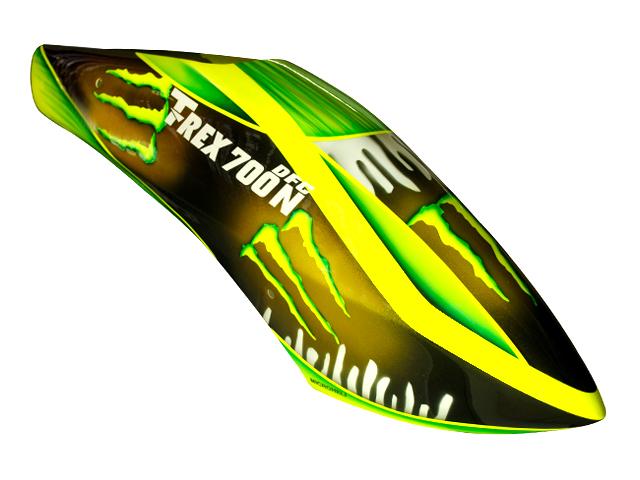 ... Airbrush Fiberglass Green Monster Canopy - T-REX 700N DFC ...  sc 1 st  Microheli & T-REX 700 series : Airbrush Fiberglass Green Monster Canopy - T ...